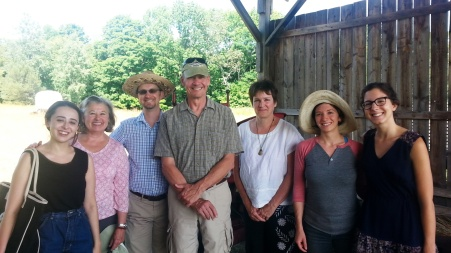 Steering Committee members at Stone Horse Farm for the 2016 retreat.